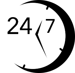 24/ 7 Service